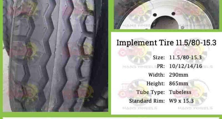 Trailer Tyre 11.5/80-15.3
